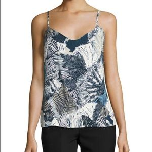 French Connection - Lala Palm Print Camisole - XXS
